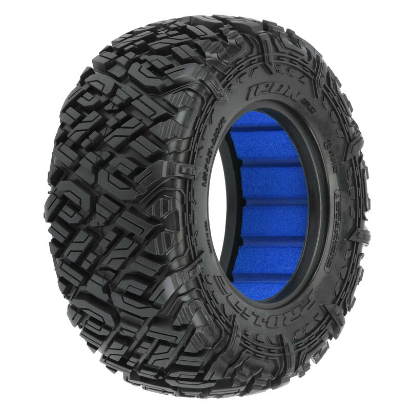"""1/10 Icon Front/Rear 2.2""""/3.0"""" All Terrain Short Course Tires (2)"""