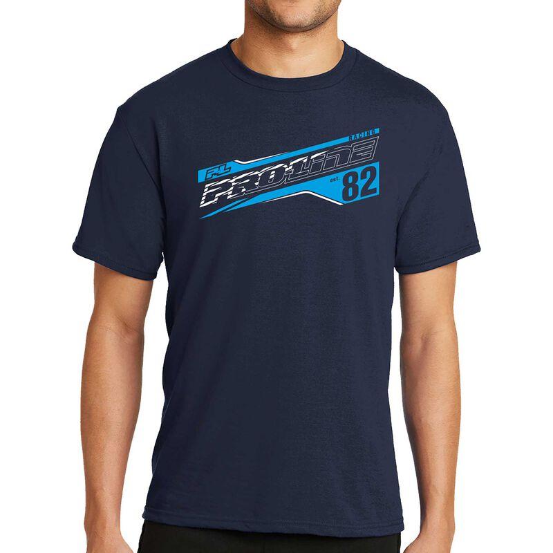 Pro-Line Streak Deep Navy T-Shirt - XX-Large