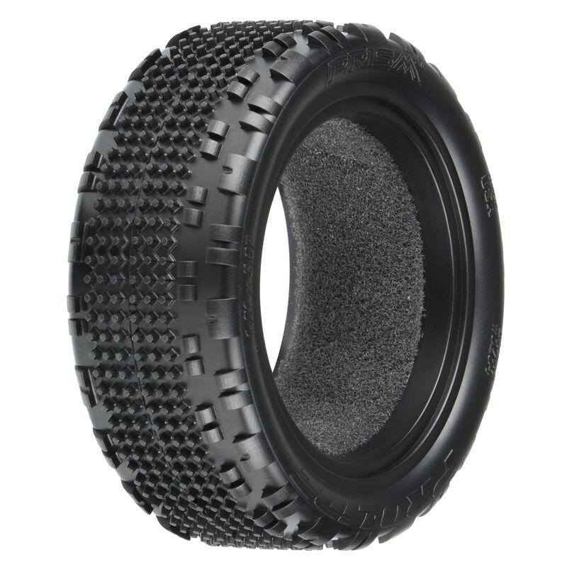 "1/10 Prism 2.0 Z3 4WD Front 2.2"" Carpet Buggy Tires (2)"