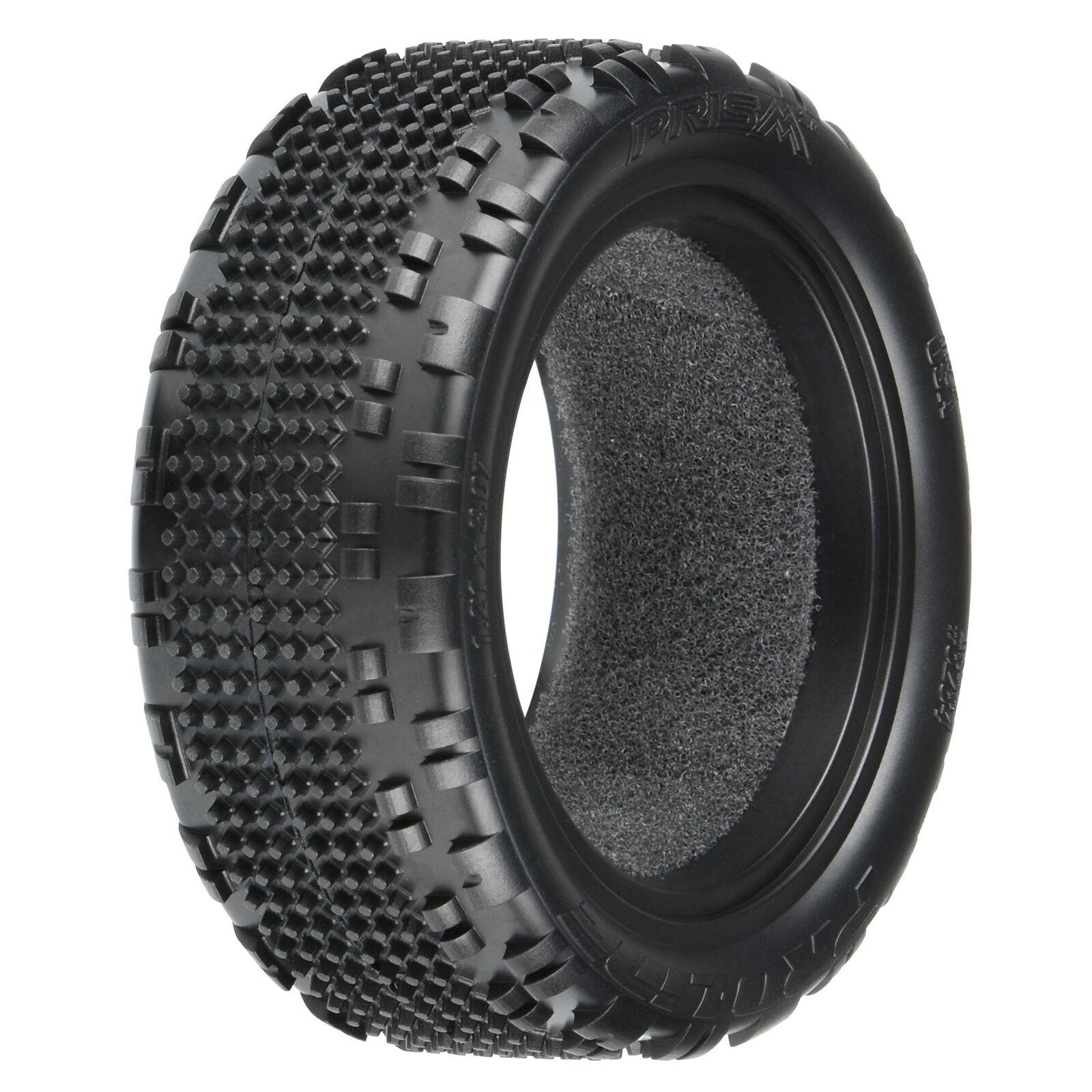 "1/10 Prism 2.0 Z4 4WD Front 2.2"" Carpet Buggy Tires (2)"