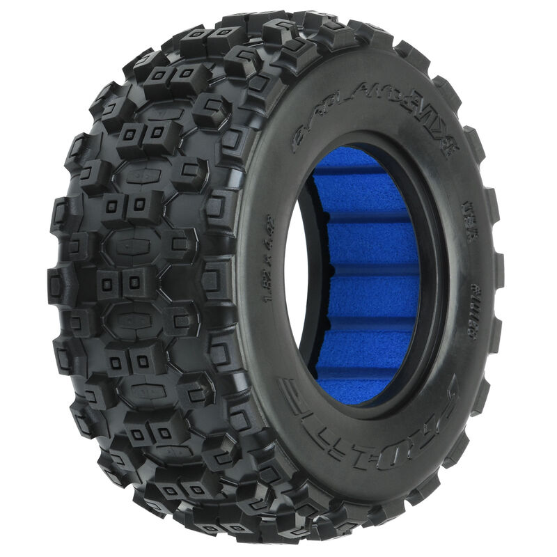 "1/10 Badlands MX M2 Front/Rear 2.2""/3.0"" Short Course Tires (2)"