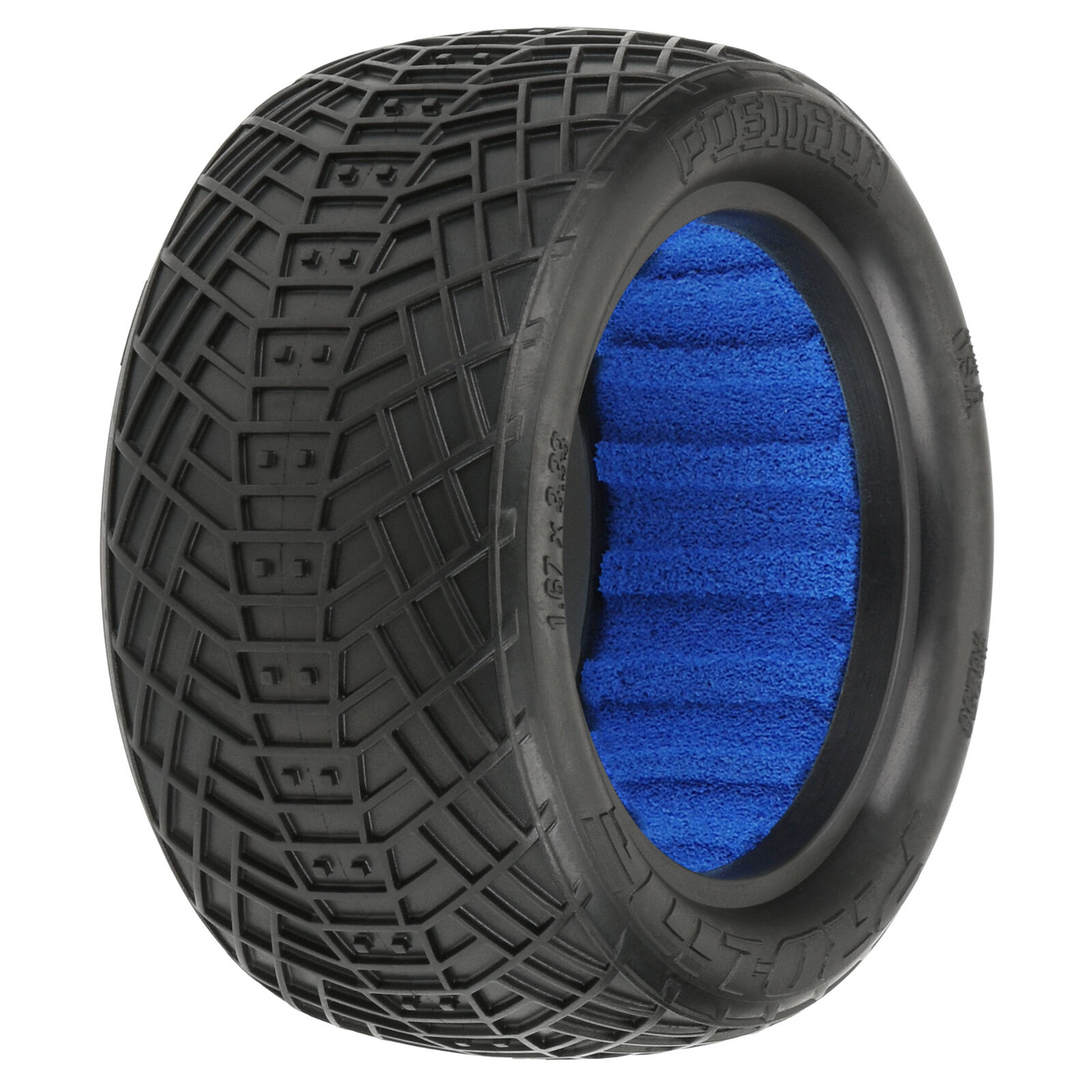 """1/10 Positron S3 Rear 2.2"""" Off-Road Buggy Tires (2)"""