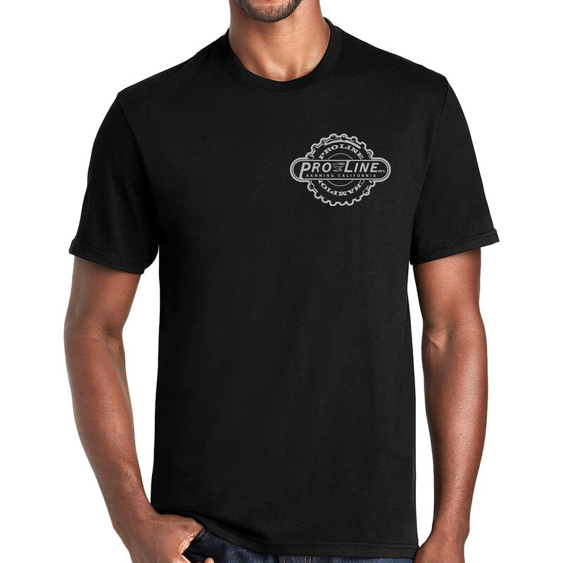 Pro-Line Manufactured Black T-Shirt - Large