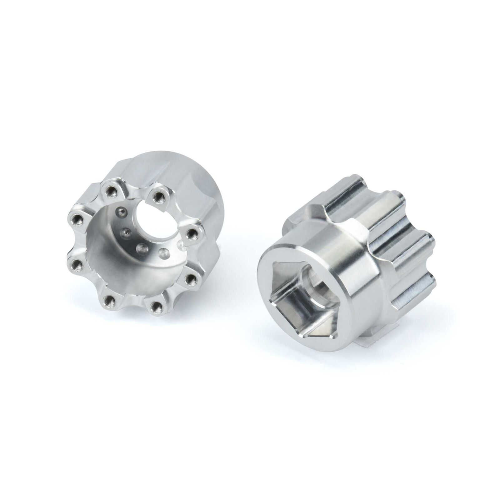 1/8 8x32 to 20mm Aluminum Hex Adapters