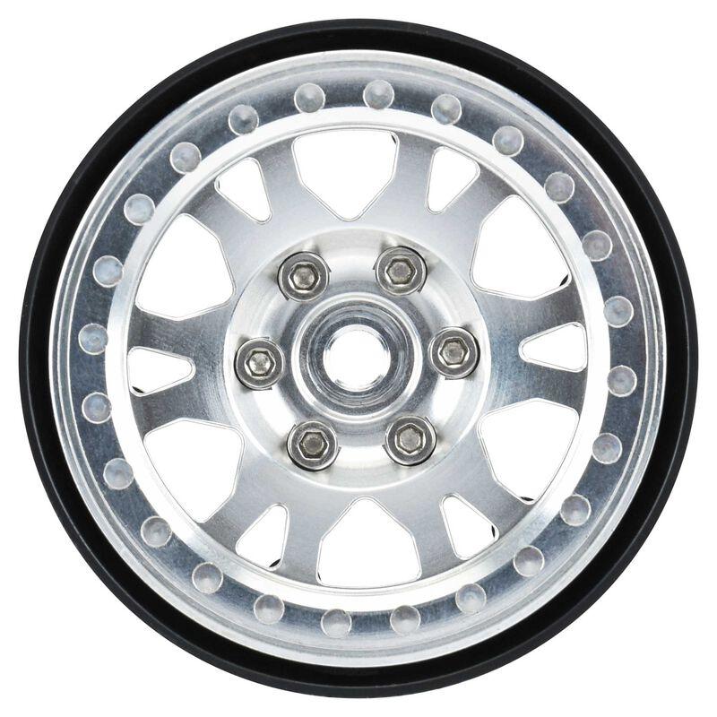 """1/10 Impulse Aluminum Front/Rear 1.9"""" 12mm Rock Crawler Wheels (2)"""