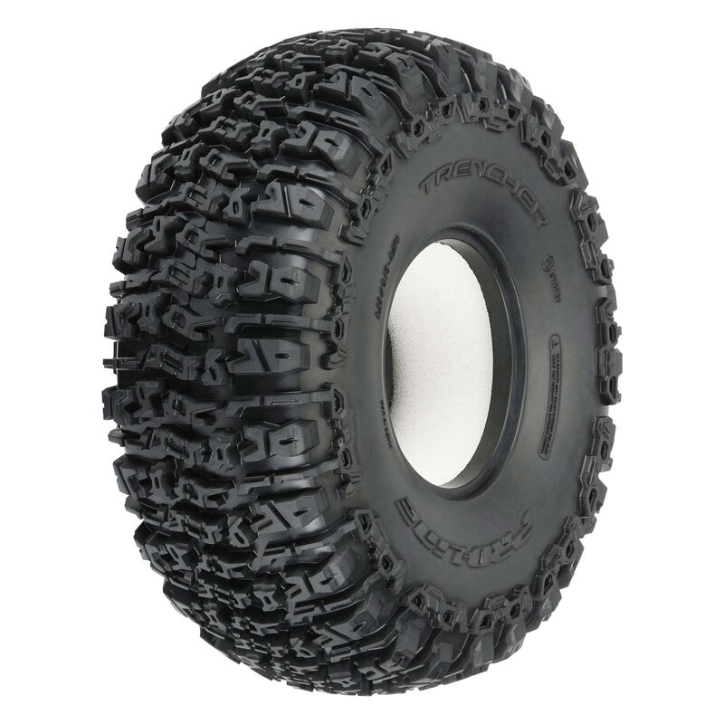 """1/10 Trencher Predator Front/Rear 2.2"""" Rock Crawling Tires (2)"""