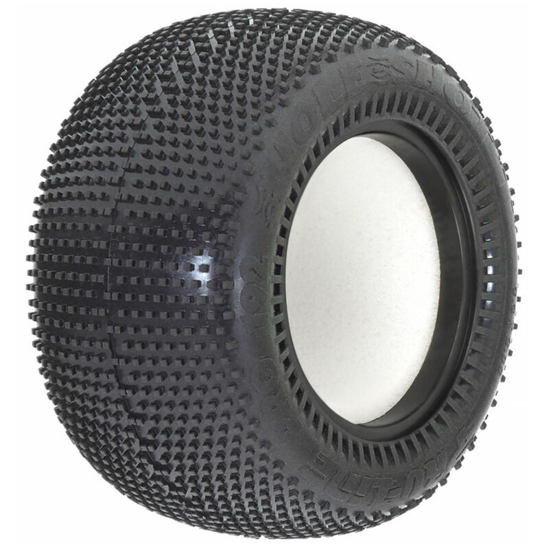 """1/10 Hole Shot T M3 Front/Rear 2.2"""" Off-Road Stadium Truck Tires (2)"""