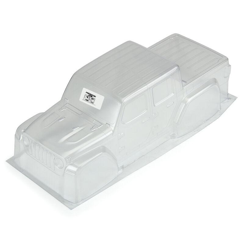 1/10 Jeep Gladiator Rubicon Clear Body: GRANITE