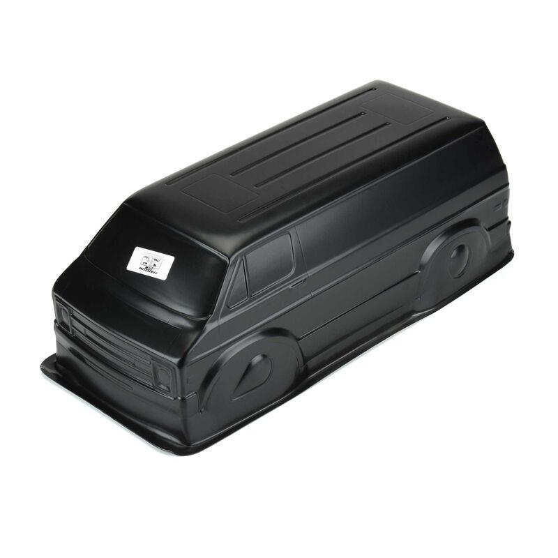 "70's Rock Van (Black) Body for 12.3"" WB Crawlers"