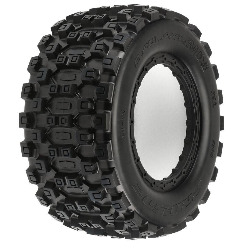 1/5 Badlands MX43 Pro-Loc Front/Rear All Terrain X-MAXX Tires (2)