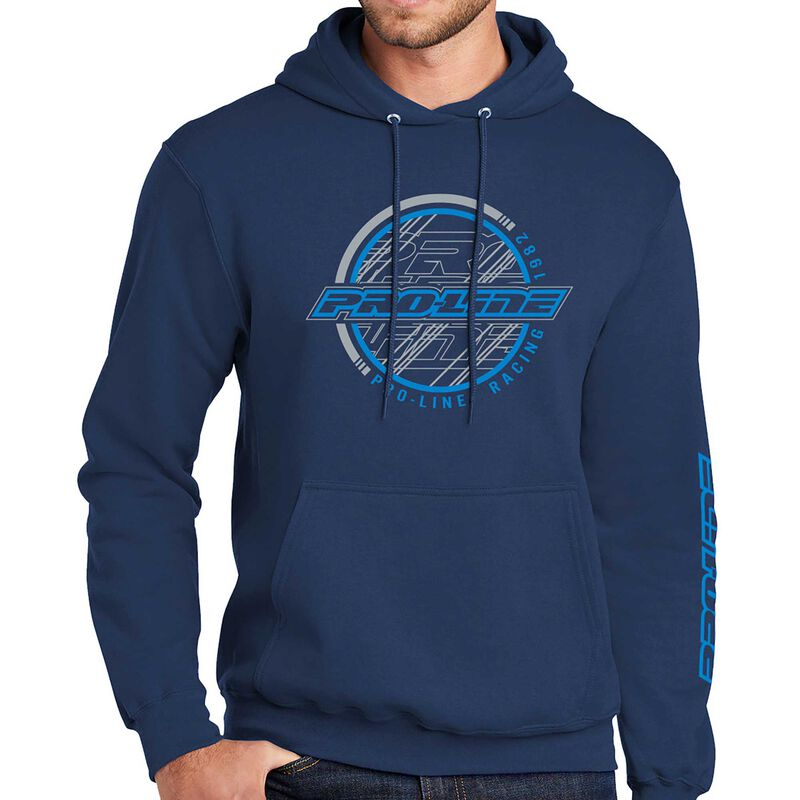 Pro-Line Sphere Navy Hoodie Sweatshirt - X-Large