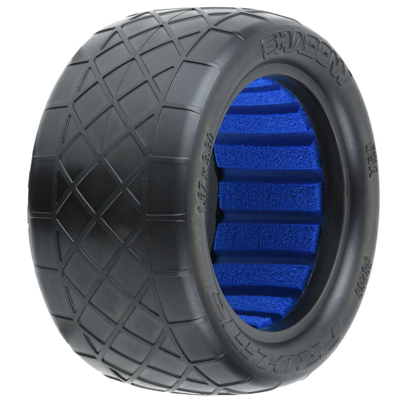 """1/10 Shadow S4 Rear 2.2"""" Off-Road Buggy Tires (2)"""