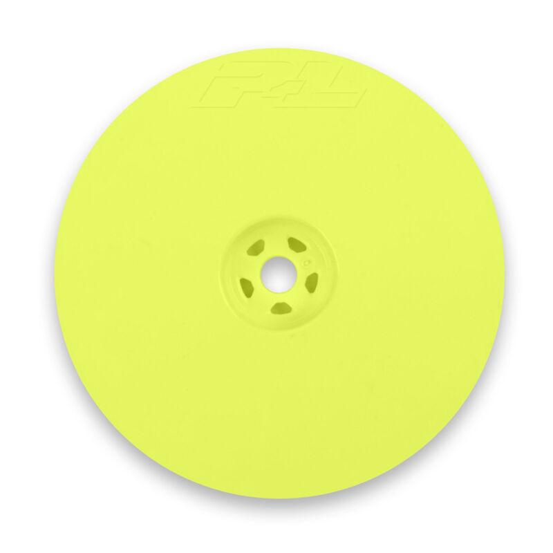 "1/10 Velocity Rear 2.2"" 12mm Buggy Wheels (2) Yellow"