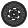 "1/10 Vice CrushLock Front/Rear 2.6"" 12mm Crawling Wheels (2) Blk/Blk"
