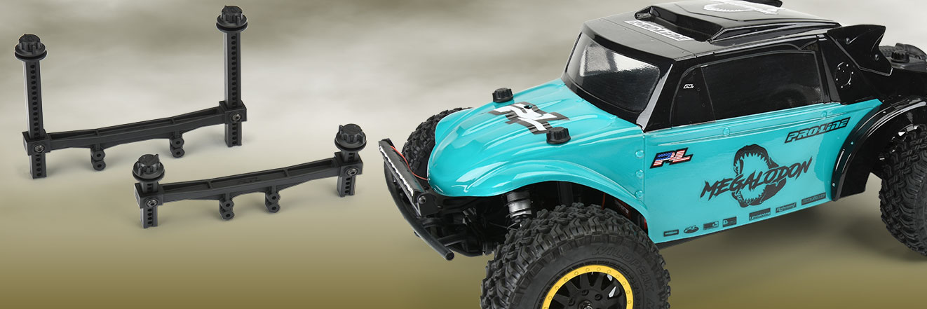 Pro-Line Extended Front and Rear Body Mounts