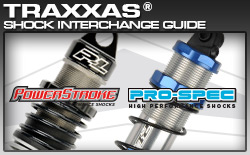 Traxxas Shock Interchange Guide