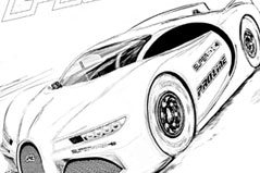 Pro-Line Coloring Page - Supersonic