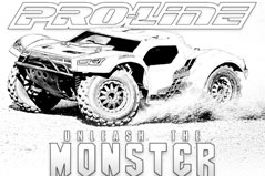 Pro-Line Coloring Page - Monster