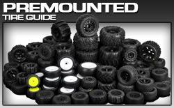 Pro-Line Premounted Tire List