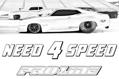 Pro-Line Coloring Page - Drag Racing