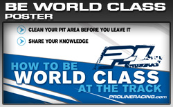 Be World Class at the Track